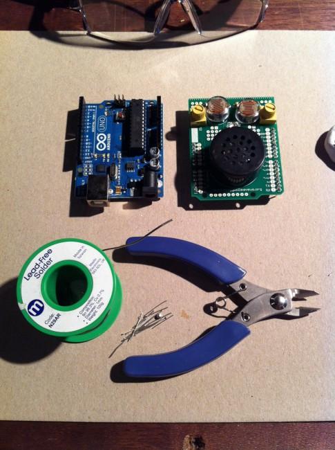 circuits: Digital creature, Arduino