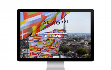 ArtCOP21 festival website
