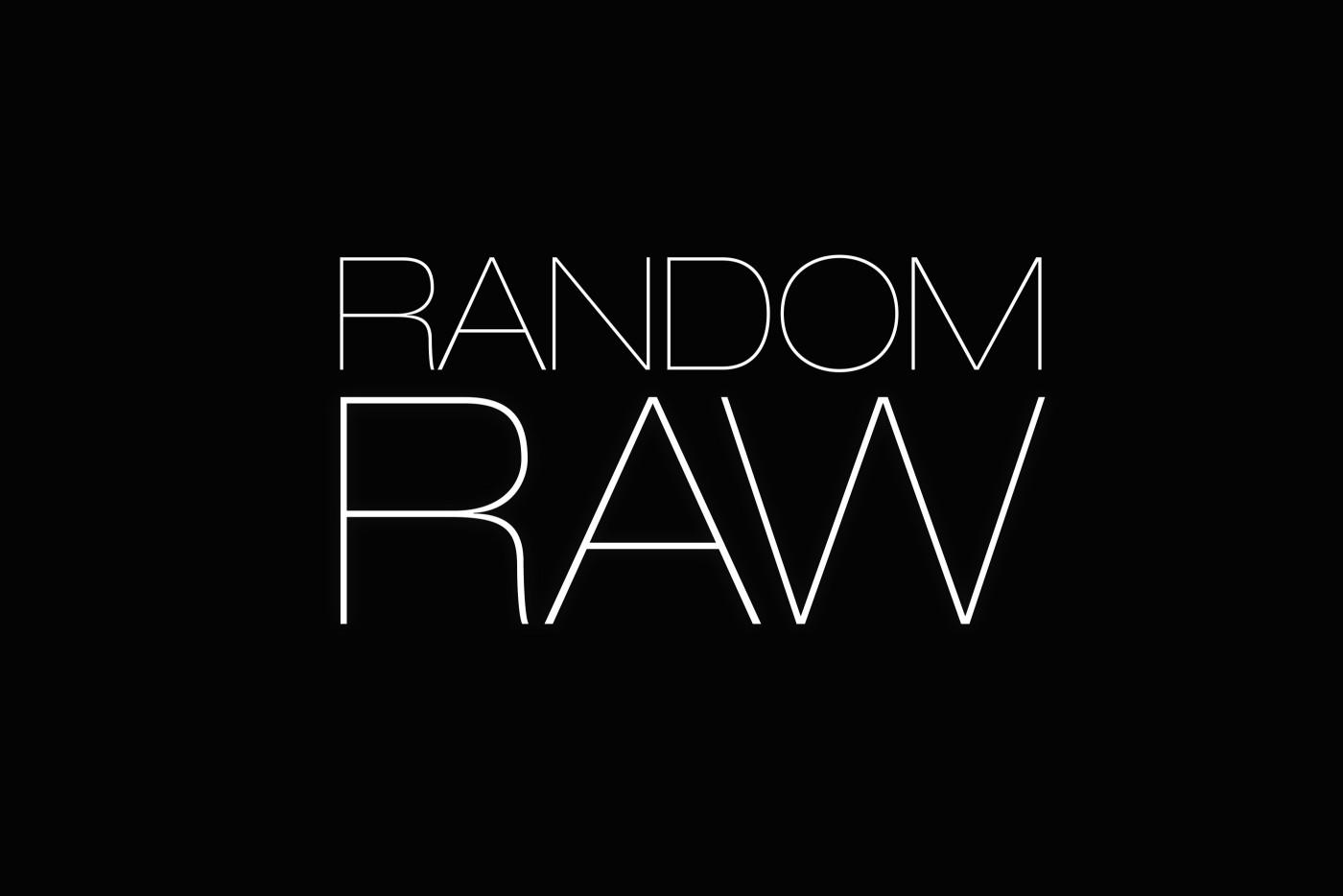 Random Raw Logo