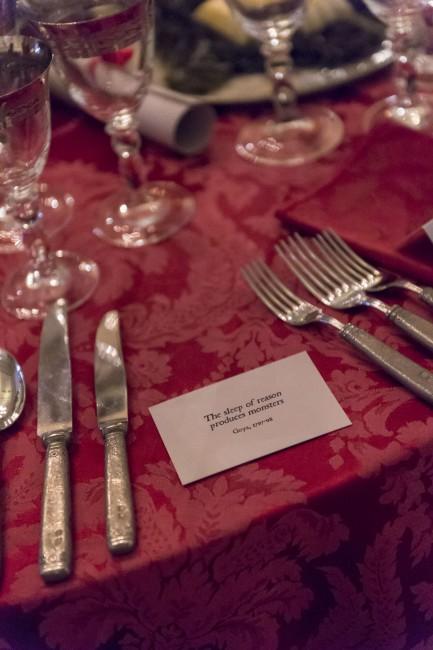 Courtauld Gallery Goya Directors Dinner