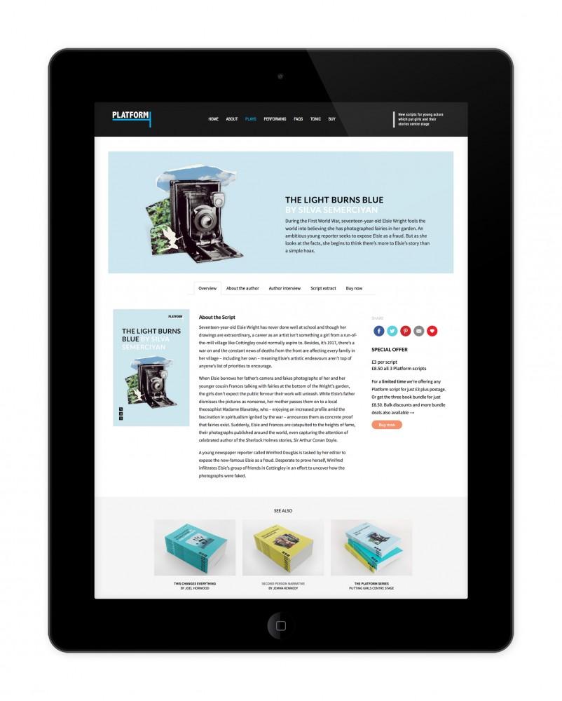 Platform website